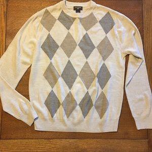 Dockers Sweaters - DOCKER'S Men's Lg Sweater Crewneck Tan Argyle Soft